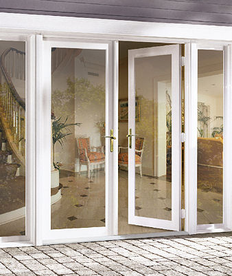 Series 1100 platinum for Storm doors for french patio doors